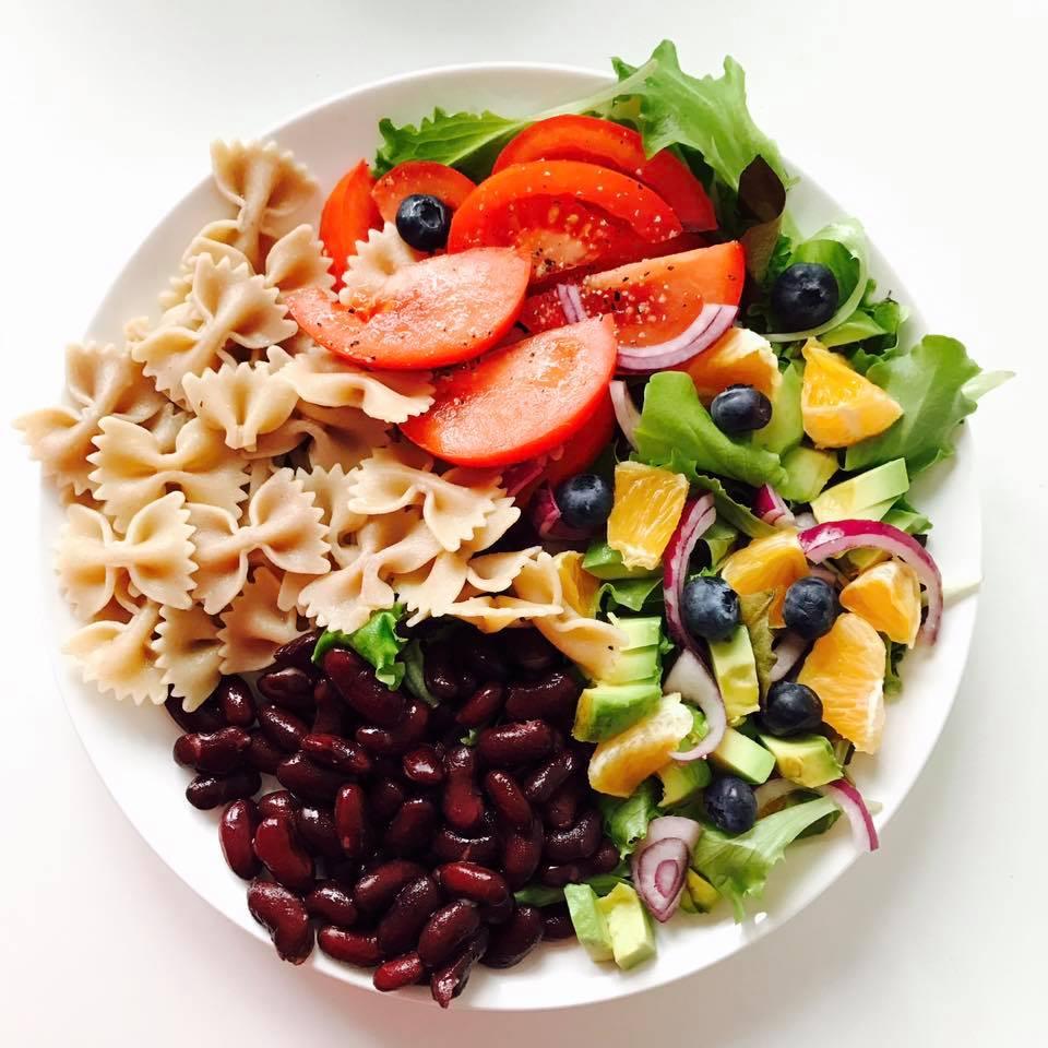 Vegan salat